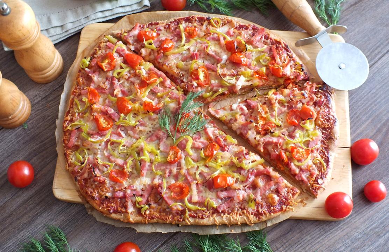 Pilno grūdo pica be mielių