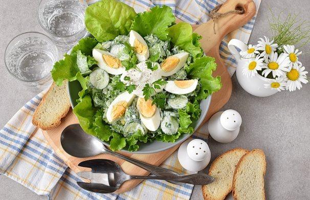 Greitos ir skanios salotos