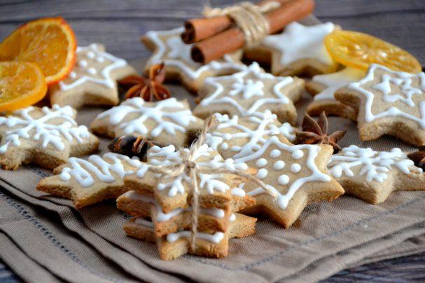 Imbieriniai sausainiai iš ryžių miltų